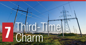 7. Third-Time Charm