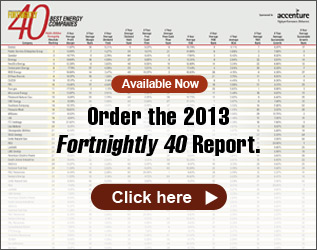 Available now: Order the 2013 Fortnightly 40 Report