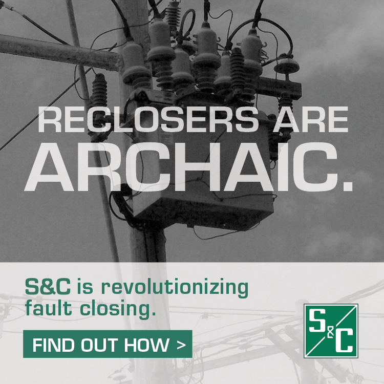 S&C - Reclosers are ARCHAIC